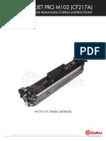 Hp Pro m102 Reman Toner Eng