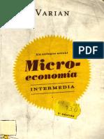 Microeconomia Intermedia- Half Varian - 5 Edicion.pdf