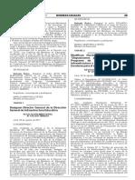 """RM. Nº 479-2017-MINEDU-Modifican Norma Técnica Denominada """"Disposiciones Para La Ejecución Del Programa de Mantenimiento de La Infraestructura y Mobiliario de Los Locales Escolares Para El 2017"""