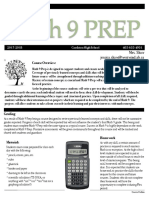 math 9 prep course outline  1  pdf