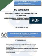 cambios ISO 9001