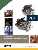 Parker Serie P1+PD