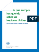 Todo Sobre Las Naciones Unidas