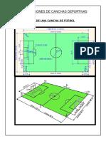 Dimensiones de Canchas Deportivas