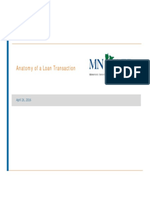 2016_3A_Anatomy_of_a_Loan_Tr pdf | Syndicated Loan | Credit