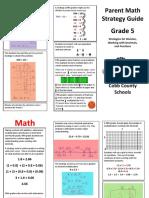grade 5 parent math strategy guide