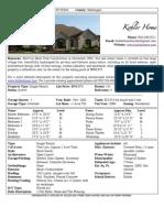 Kohler Home Sales Flyer