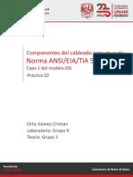 Laboratorio Redes de Datos - Práctica 02