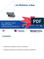 Lubricacion de Motores a Gas