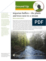 Green From the Ground Up - Managing Riparian Buffers