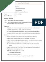 LESSON PLAN YERAR 4 - PRINCE FARIZ L & S.doc