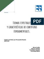 FIRMAS ESPETRALES