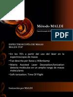 Método MALDI