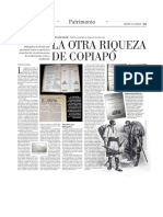 Nota Mercurio. Museo Regional de Atacama