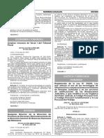 Reglamento de La Ley n 30229 Ley Que Adecua El Uso de Las Anexo Ds n 003 2015 Jus 1263787 1