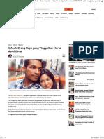 5 Anak Orang Kaya Yang Tinggalkan Harta Demi Cinta - Bisnis Liputan6