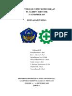 laporan keselamatan kerja martina berto (Autosaved).docx
