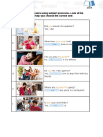 ENGL115 Grammar 1-1 Subject Object Pronouns
