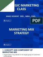 Marketing Mix Strategy - Presentation