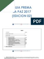 Guia Prema La Paz 2017 2da Edicion (1)