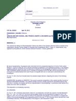 Chavez v, JBC, G.R. No. 202242, July 12, 2012.