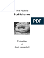 Harada Shodo the Path to Bodhidharma