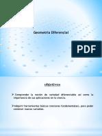 Geometria Diferencial -Ev