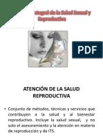 Atencion en Salud Reproductiva 2012