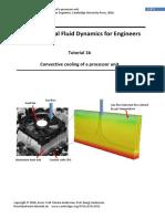 Tutorial 1b Computational Fluid Dynamics or Engineers 2016