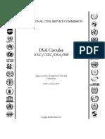 Dsa Rates - June 2017