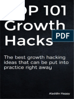 TOP 101 Growth Hacks - By Aladdin Happy