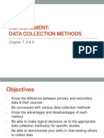 Chapter 8 Data Collect
