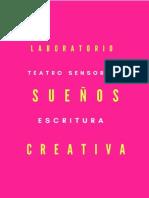 Escritura creativa Bachelard teatro sensorial