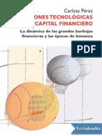 Revoluciones tecnologicas y capital finaciero, Carlota Peréz