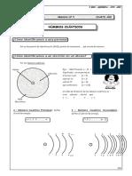 Guía Nº 5 - Números Cuánticos
