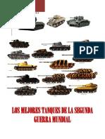 Tanques de la II WW
