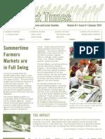 Summer Newsletter 2010