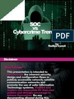 Soc vs Cybercrime
