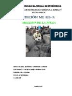 INFORME DE MOLDEO DE LA PIEZA (FUNDICIÓN).docx