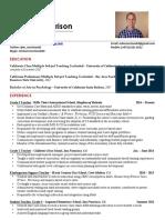 mike morrison - resume 2017
