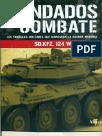 Blindados de Combate 12-SD.kfz. 124 Wespe