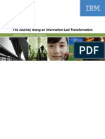 The Journey Along Information Led Transformation
