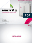 Instalacion Multi v IV LCV
