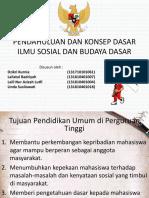 PENDAHULUAN DAN KONSEP DASAR ILMU SOSIAL DAN BUDAYA.pptx