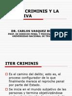 El Iter Criminis-la Tentativa