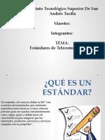 Estándares de Telecomunicaciones.pptx