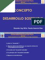 2. Concepto de Desarrollo Sostenible