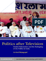 Arvind Rajagopal-Politics after Television_ Hindu Nationalism and the Reshaping of the Public in India (2001).pdf