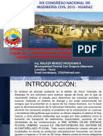 Ponencia Sobre Drenaje Urbano.huaraz.2015