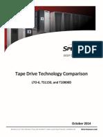 Spectra Logic - Tape Drive Technology Comparison